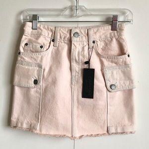 Carmar Denim Pink Colin Skirt